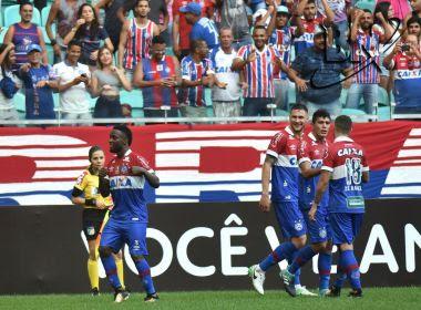 Com dois gols de Mendoza, Bahia vence o Vasco na Arena Fonte Nova