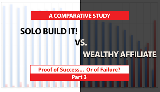 SBI! vs. Wealthy Affiliate Review: WA Proof of Success… or Failure? Part 3