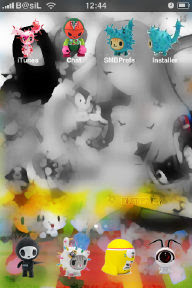 iPhone theme tokidoki2
