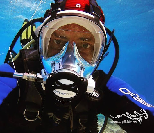 Fullface diving / 'conventional' diving. - Relaxed Guided Dives