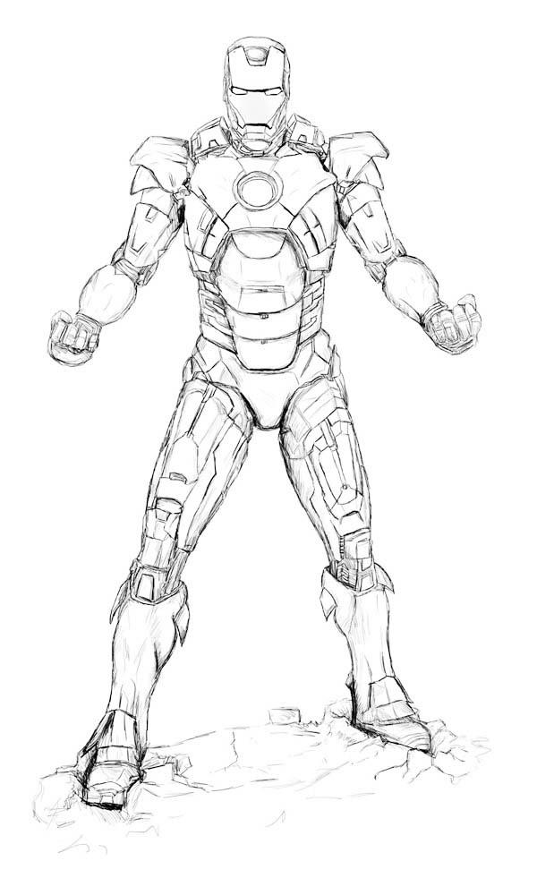 Lego Iron Man Drawing at GetDrawings | Free download
