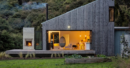 LTD architectural builds 'back country house' in new zealand
