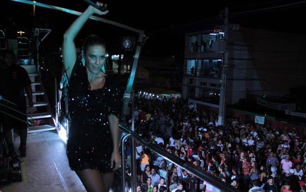 Ivete Sangalo no Pré-Caju, em Aracaju (Foto: Fred Pontes / Divulgação)