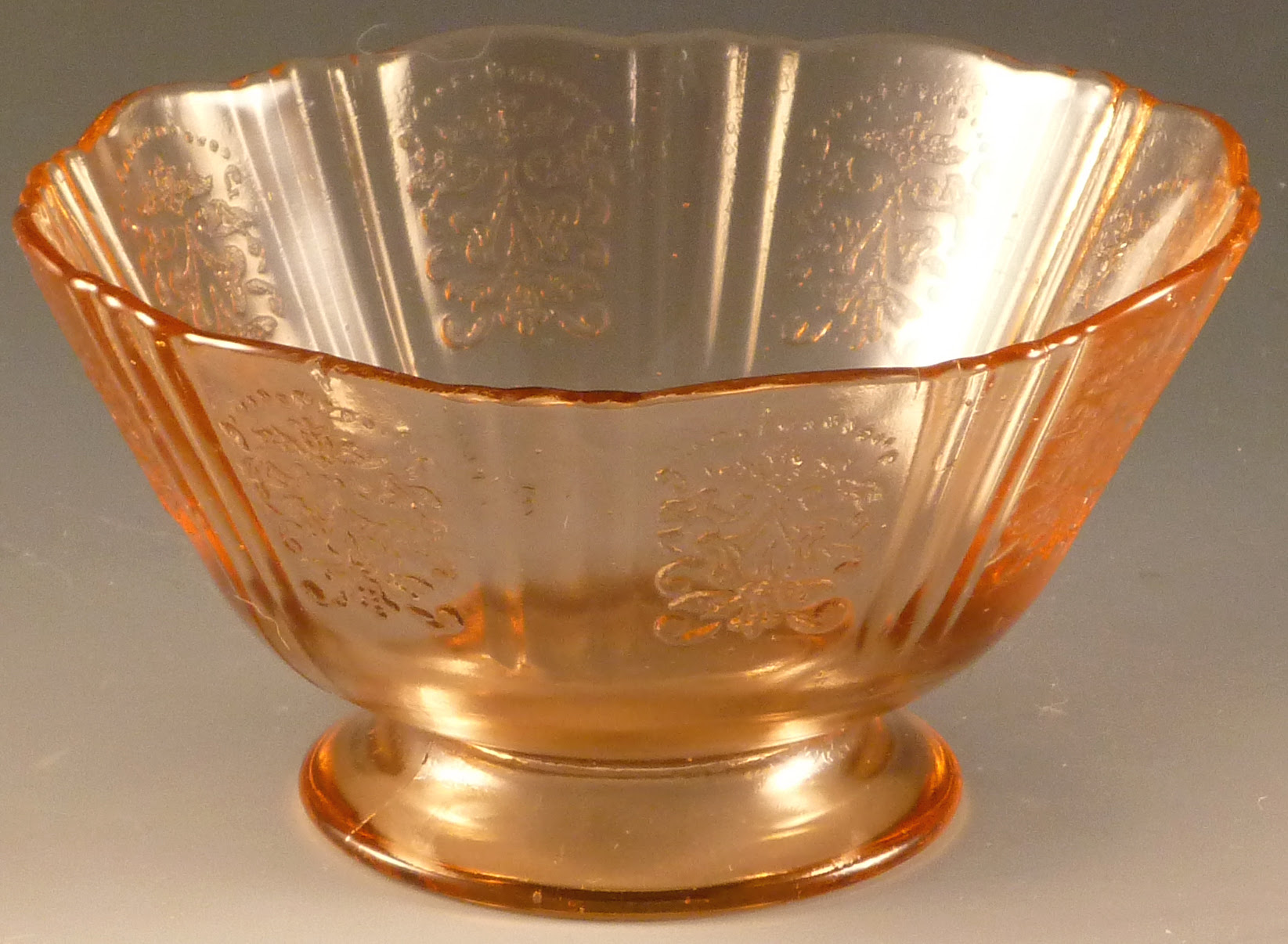American Sweetheart - A Pink Depression Glass Safe Pattern