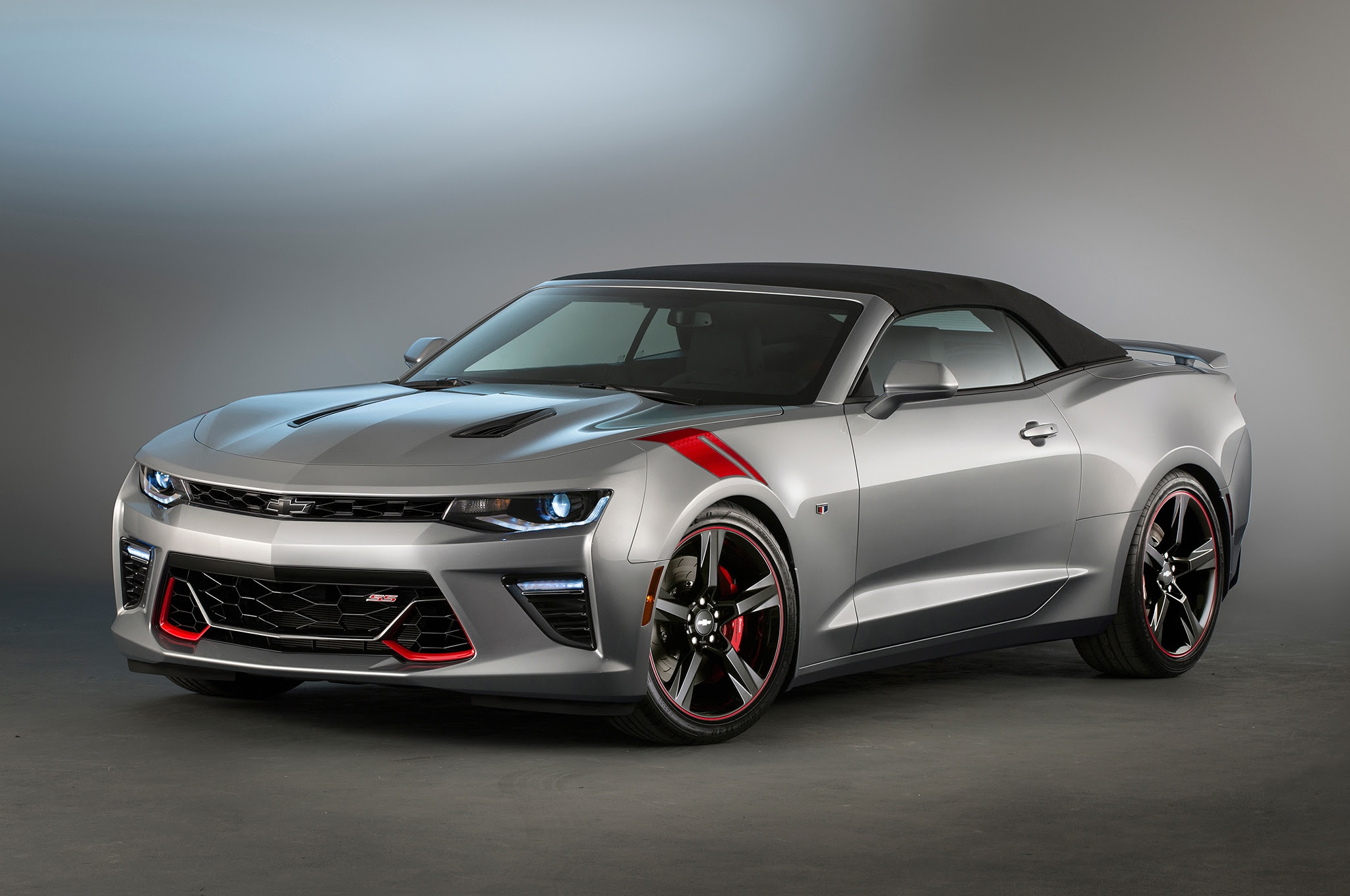 2016 Chevrolet Camaro Ss Red Black Accent Concepts Head To Sema