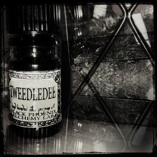 Tweedledee: Black Phoenix Alchemy Lab Alice in Wonderland Perfume Oil