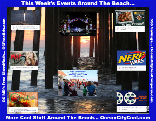 Upcoming Events Around The Beach...