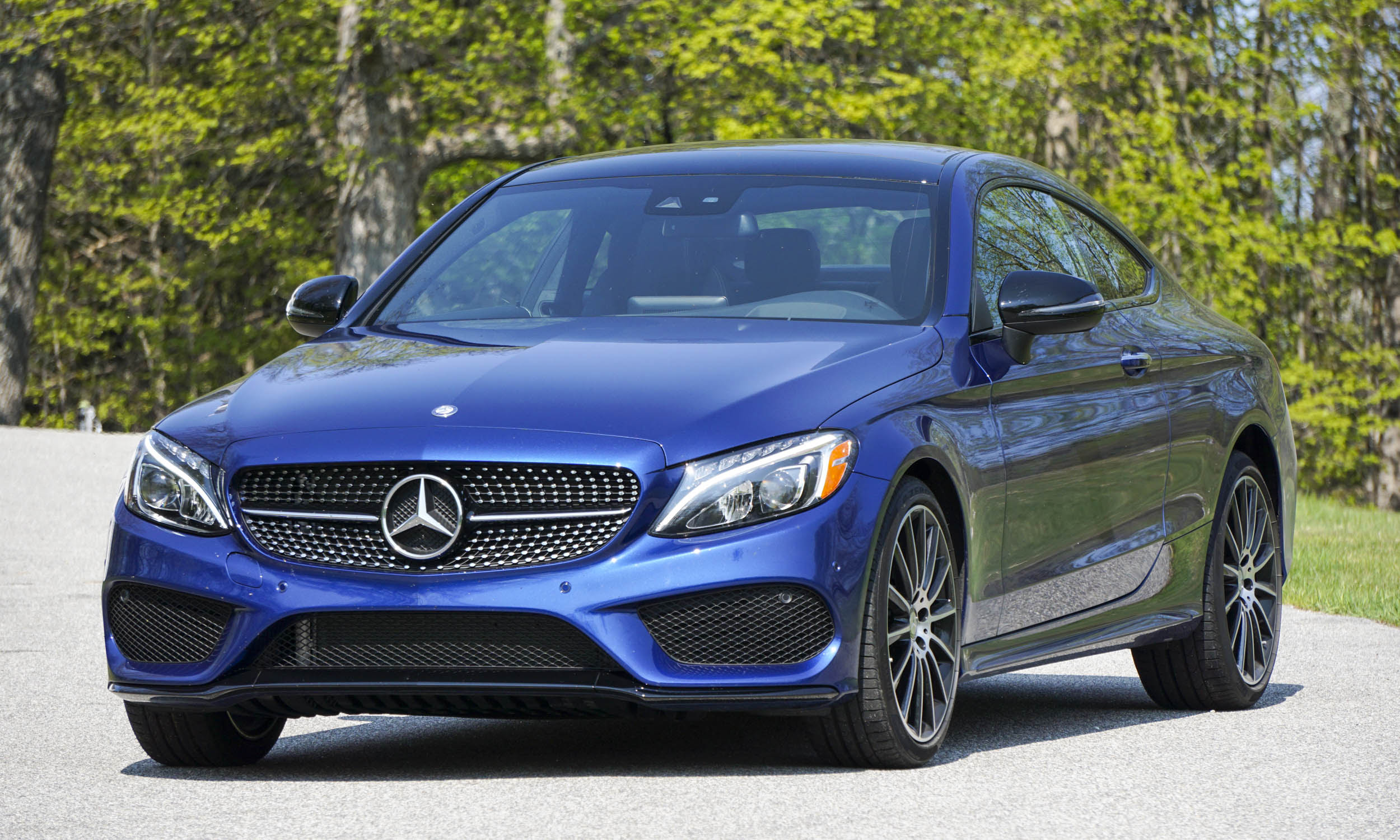 2017 Mercedes-Benz C-Class Coupe: First Drive Review ...