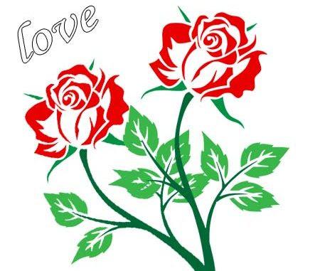 Rosas De Amor Para Dibujar Faciles Rosas De Amor