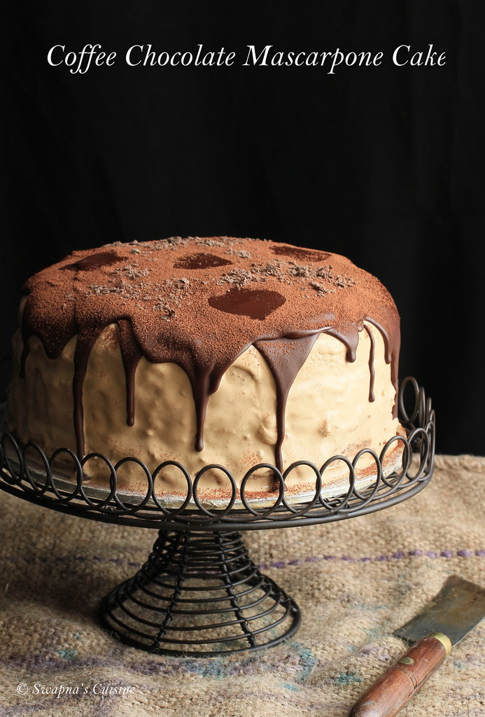 Chocolate Mascarpone Layered Cake