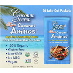 Coconut Secret Coconut Aminos, The Original, Take-Out Packets - 20 - 1/4 fl oz packs (5 fl oz)