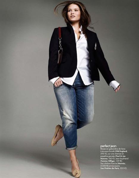 Tara Lynn for Elle France