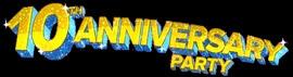 10th Anniversary Party Logo
