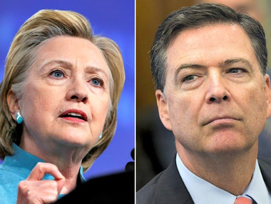 Comey's Original Hillary Clinton Email Memo Suggested Possible Felony Violations - Breitbart