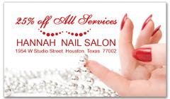 CPS-1068 - salon coupon card
