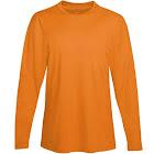 Hanes Cool Dri Performance Men's Long-Sleeve T-Shirt Safety Orange