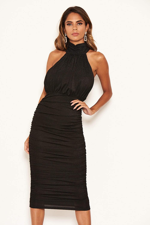 Ebay ax paris high neck bodycon dress