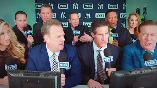 The Yankees Get a 9-Particular person Broadcast Sales space in YES Community's Enjoyable 2018 Advert - Czaal is a source for latest happening around the world.