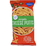 Barbara's Bakery Jalapeno Cheese Puffs   7 oz Package