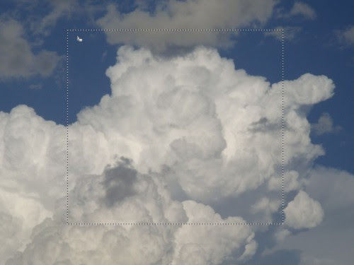 Transform a Cloud Photo into an Flaming Scene in Photoshop image 1