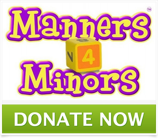 Click here to support Help to bring Manners4Minors to the USA  by Adele Nolan