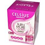 Celsius Sparkling Wild Berry - 4 pack, 12 fl oz cans