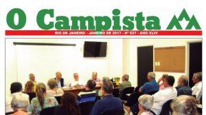 """Edição de 01/2017 do Jornal """"O Campista"""" do CCB"""