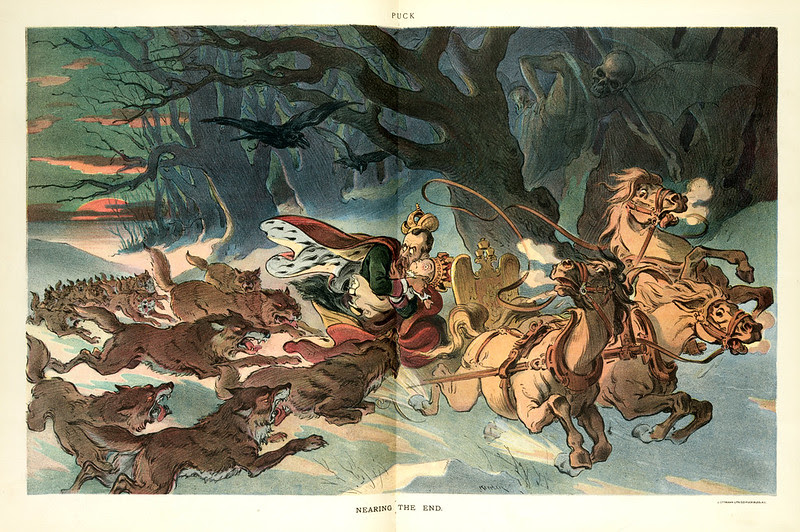 Udo J. Keppler - Illustration in Puck, v. 57, no. 1466 (1905 April 5), centerfold