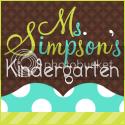 Ms. Simpson's Kindergarten