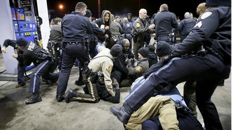 Police killing sparks St Louis unrest