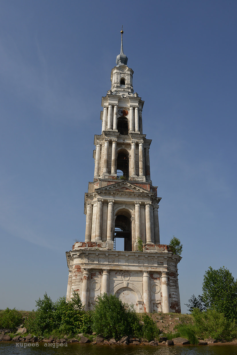 The Flooded Bell Tower Of Kalyazin  C2 B7 Russia Travel Blog