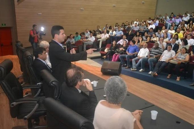 Encontro entre representantes do Governo e prefeitos foi proposto pelo presidente da Famem, Gil Cutrim