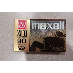 MAXELL XL-II C90 Blank Audio Cassette Tape 2 pack (Discontinued by Manufacturer) - Unlimited Cellular