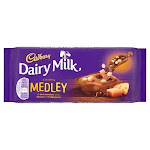 Cadbury Dairy Milk Medley Fudge 93g - Pack of 2 by British Food Supplies