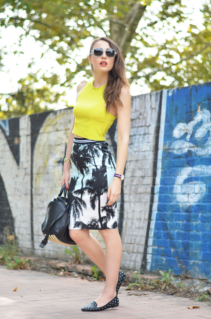 tropical glam outfit and last days of summer  melissa cabrini