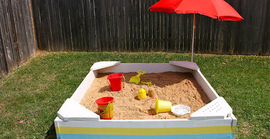 15 Fun DIY Sandbox For Your Kids To Play In  - Home And Gardening Ideas