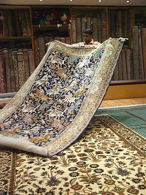 Jaipur carpet factory