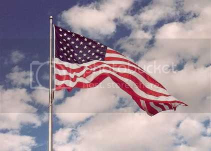 Old Glory: flag of the United States of America
