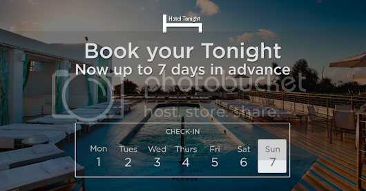 Hotel Tonight - Plan Less. Live More. Book your Tonight, now up to 7 days in advance!