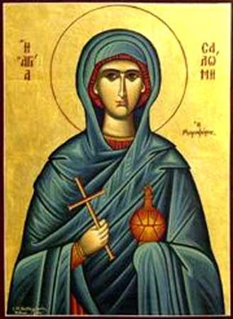IMG ST. SALOME the Myrrh-bearer