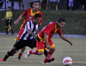 Renatinho Potiguar, lateral-esquerdo do Globo FC (Foto: Divulgação/ABC)