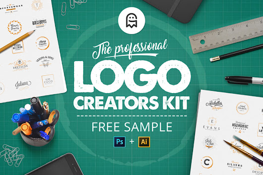The Professional Logo Creators Kit - Free Sample - Graphic Ghost