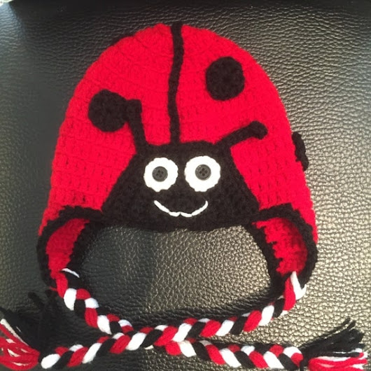 Ladybug Hat by AmysCraftingCorner1 on Etsy