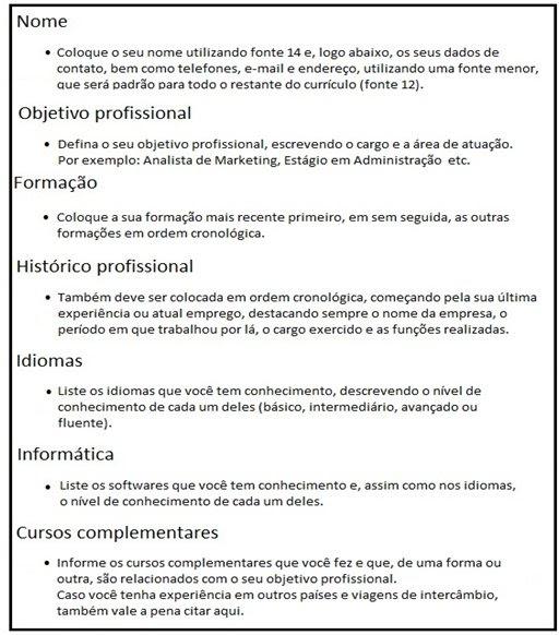 Curriculum Primeiro Emprego Yahoo Avaré Guia Avaré Guia Oficial