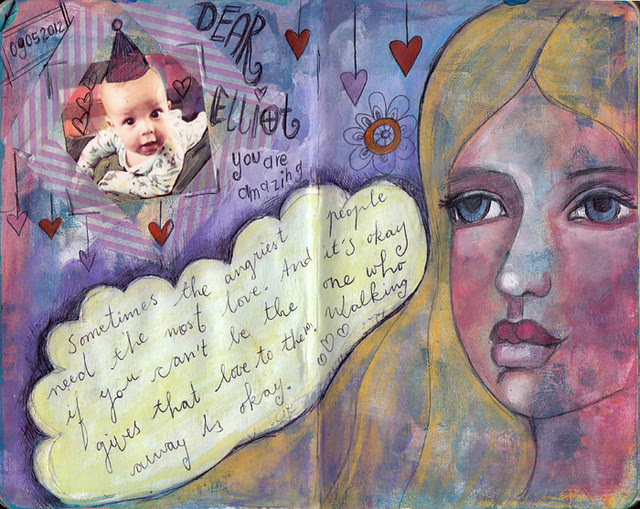 Dylan & Elliot Art Journal - p3