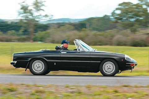 Vintage Alfa Romeo Convertible