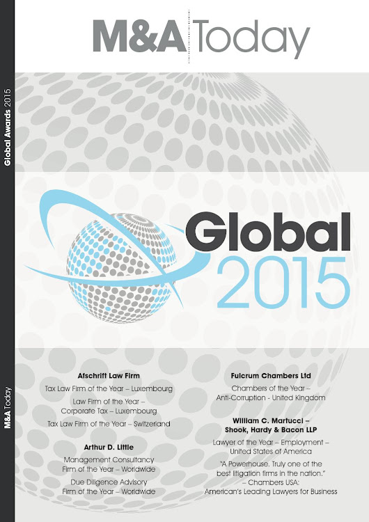M&A Today - Global Awards - 2015