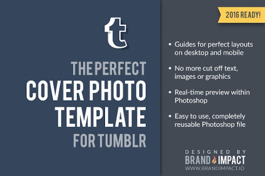 Tumblr Header Preview Template by BrandImpactIO on Etsy
