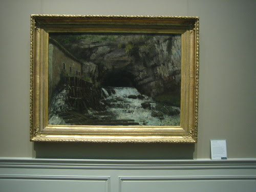 The Source of the Loue, 1864, Gustave  Courbet _8404