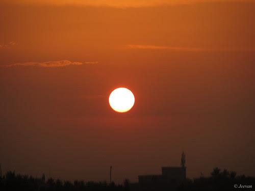 Stunning sun-set